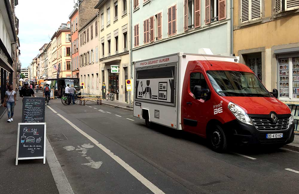 Fresh BE - Food truck burger à Strasbourg